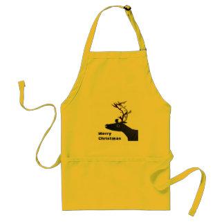 Xmas Reindeer Standard Apron