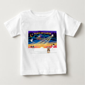 Xmas Sunrise - Yorkshire Terrier 17 Baby T-Shirt