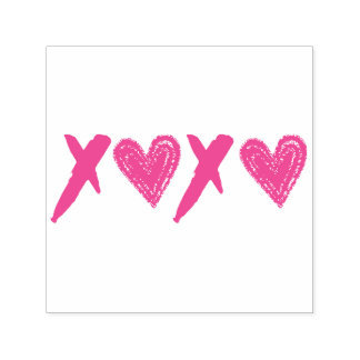 XOXO Hearts Self-inking Stamp