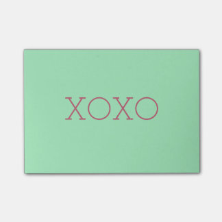 XOXO Post-it® Notes