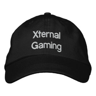 Xternal Gaming Hat Embroidered Hats