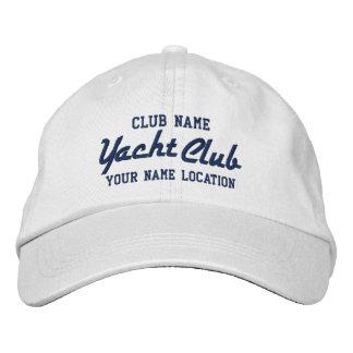 Yacht Club Personalizable Cap Baseball Cap