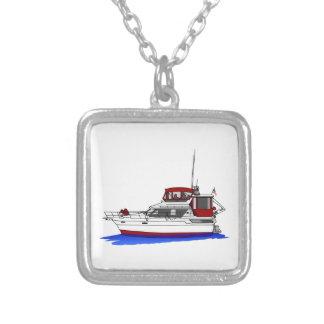 Yacht Square Pendant Necklace