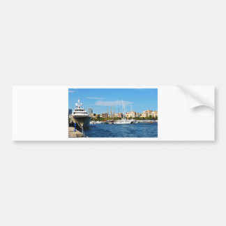 Yachting Bumper Sticker
