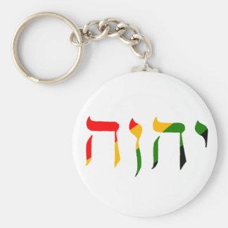Yahweh in Hebrew Key Ring