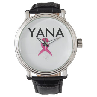 YANA Breast Cancer Awareness Watch