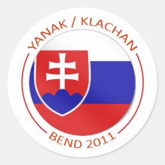 Yanak/Klachan Reunion Stickers