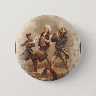 Yankee Doodle 6 Cm Round Badge
