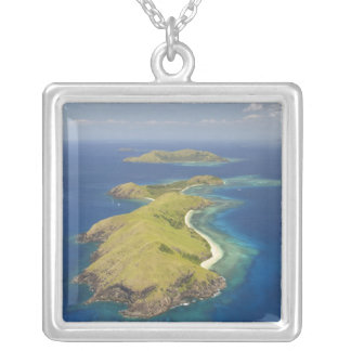 Yanuya Island, Mamanuca Islands, Fiji Silver Plated Necklace