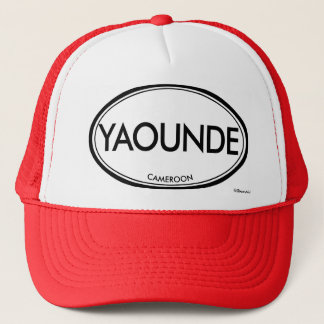 Yaounde, Cameroon Trucker Hat