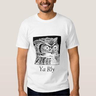 YaRly Owl T-Shirt - Men's White