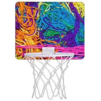 Yarn Tangles Photo Mini Basketball Hoop