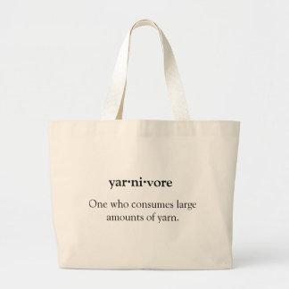 Yarnivore 100% Natural Cotton Jumbo Tote Bag