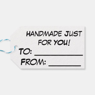 """Yarnivore Cat Tags """"Handmade Just for You"""""""