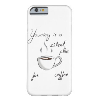 Yawning Coffee Phone Case
