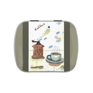Ye Olde Coffee Grinder Old-Fashioned Candy Tin