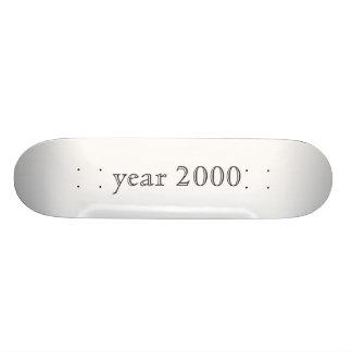 year 2000 custom skate board