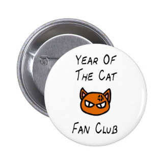 Year Of The Cat Fan Club Button