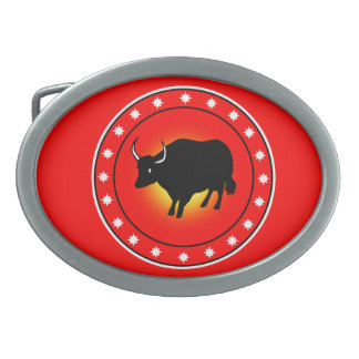 Year of the Ox Belt Buckle