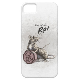 Year of the Rat Chinese Zodiac Art iPhone 5 Case