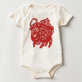"""Year of The Sheep/Goat/Ram"" Baby Bodysuit"