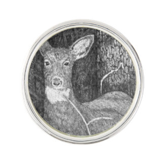Yearling Deer Lapel Pin