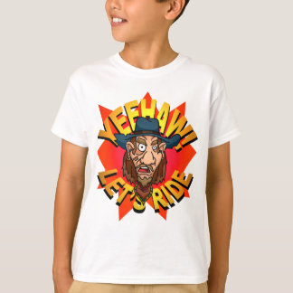 Yeehaw! Let's Ride Cowboy Kids T-Shirt