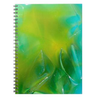 Yelloe Polar Spiral Note Books