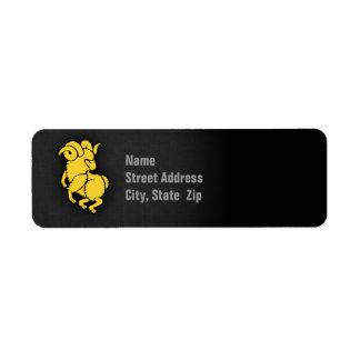Yellow Amber Aries
