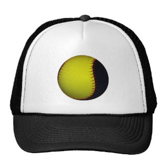 Yellow and Black Baseball / Softball Cap