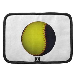 Yellow and Black Baseball / Softball Planner