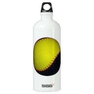 Yellow and Black Baseball / Softball SIGG Traveller 1.0L Water Bottle