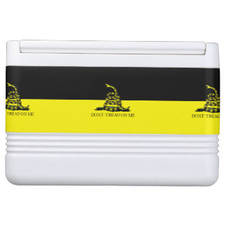 Yellow and Black Gadsden Flag Chilly Bin