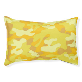 Yellow and Gold Camo Design
