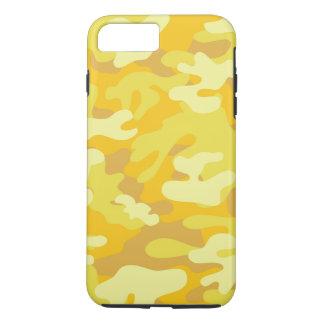 Yellow and Gold Camo Design iPhone 8 Plus/7 Plus Case