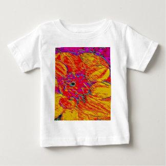 yellow and orange dahlia baby T-Shirt