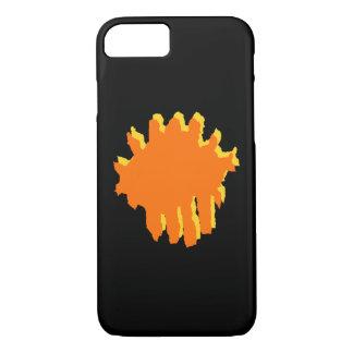 yellow and orange design iPhone 7 case
