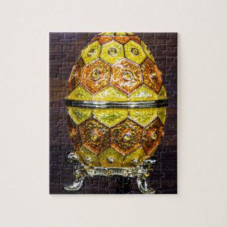 Yellow and Orange egg Jigsaw Puzzle