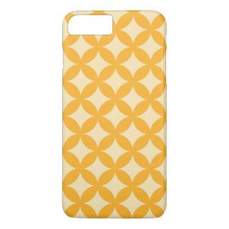 Yellow and Orange Geocircle Design iPhone 7 Plus Case