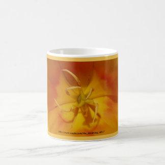 Yellow and Orange Tulip Mug