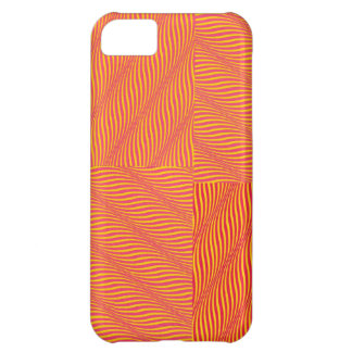 Yellow and Orange Waves Case For iPhone 5C