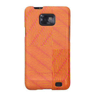 Yellow and Orange Waves Samsung Galaxy S2 Covers