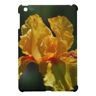 Yellow Bearded Iris iPad Mini Case
