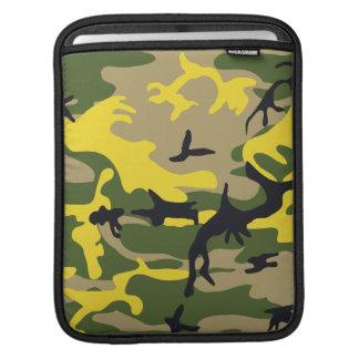 Yellow Camouflage iPad Sleeve