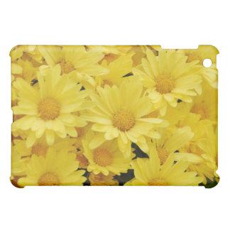 Yellow Chrysanthemum iPad Case