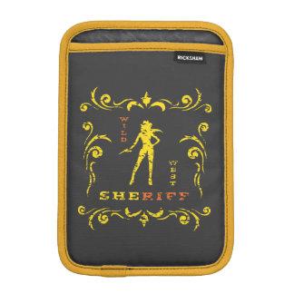 Yellow Cowgirl Sleeve iPad Mini Sleeve