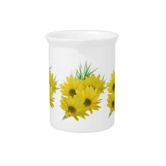 Yellow Daisies Pitcher