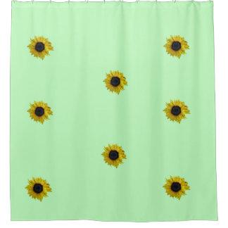 Yellow Daisies Shower Curtain