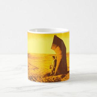 Yellow Desert Coffee Mug