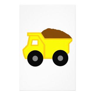 Yellow DumpTruck Stationery